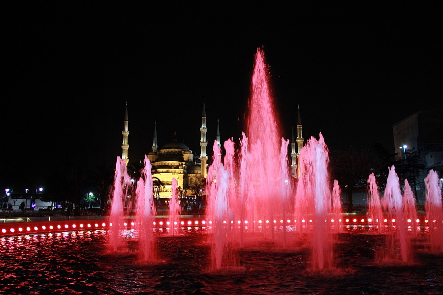 Стамбул, фотография, Голубая мечеть, путешествия, Аксанов Нияз, kukmor, Istanbul, Blue Mosque, фонтан, Султанахмет,  of IMG_5178