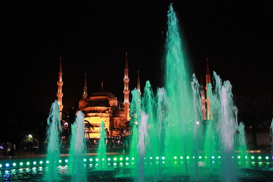 Стамбул, фотография, Голубая мечеть, путешествия, Аксанов Нияз, kukmor, Istanbul, Blue Mosque, фонтан, Султанахмет,  of IMG_5180