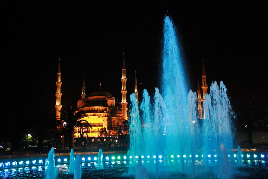 Стамбул, фотография, Голубая мечеть, путешествия, Аксанов Нияз, kukmor, Istanbul, Blue Mosque, фонтан, Султанахмет,  of IMG_5182
