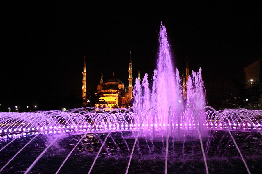 Стамбул, фотография, Голубая мечеть, путешествия, Аксанов Нияз, kukmor, Istanbul, Blue Mosque, фонтан, Султанахмет,  of IMG_5185