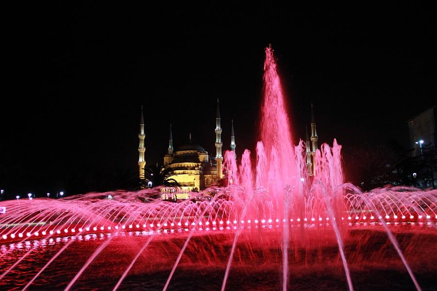 Стамбул, фотография, Голубая мечеть, путешествия, Аксанов Нияз, kukmor, Istanbul, Blue Mosque, фонтан, Султанахмет,  of IMG_5195