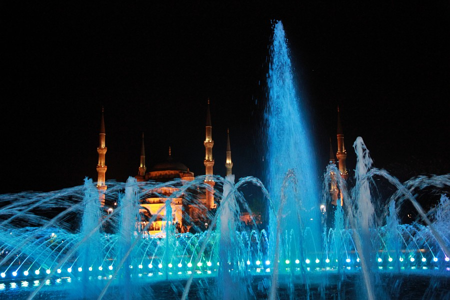 Стамбул, фотография, Голубая мечеть, путешествия, Аксанов Нияз, kukmor, Istanbul, Blue Mosque, фонтан, Султанахмет,  of IMG_5211