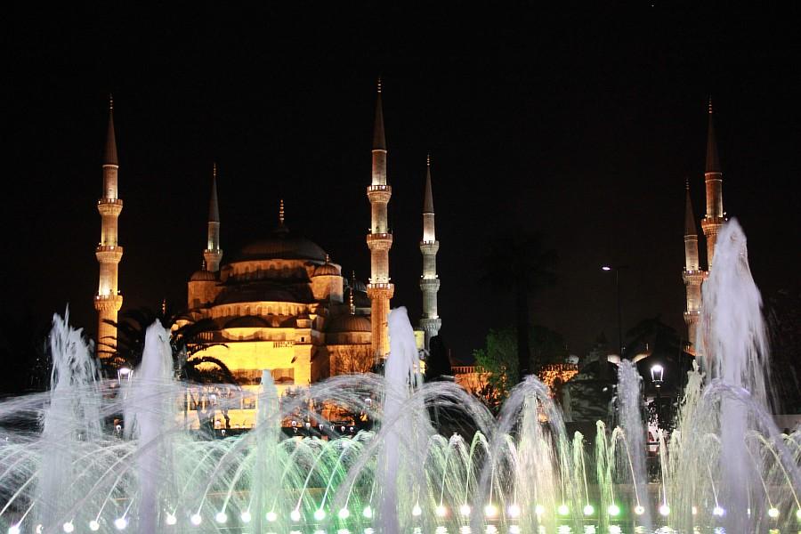 Стамбул, фотография, Голубая мечеть, путешествия, Аксанов Нияз, kukmor, Istanbul, Blue Mosque, фонтан, Султанахмет,  of IMG_5220