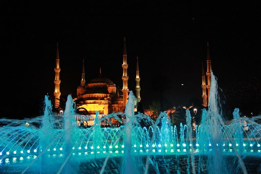Стамбул, фотография, Голубая мечеть, путешествия, Аксанов Нияз, kukmor, Istanbul, Blue Mosque, фонтан, Султанахмет,  of IMG_5222