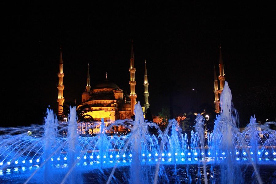 Стамбул, фотография, Голубая мечеть, путешествия, Аксанов Нияз, kukmor, Istanbul, Blue Mosque, фонтан, Султанахмет,  of IMG_5224