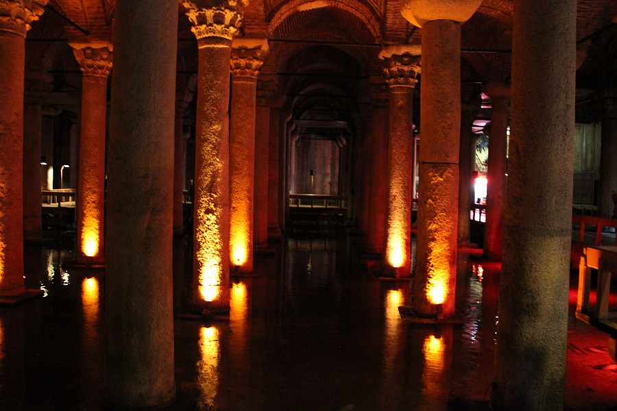 Istanbul, Стамбул, путешествия, фотография, Цистерна Базилика, Аксанов Нияз, kukmor  of IMG_1485
