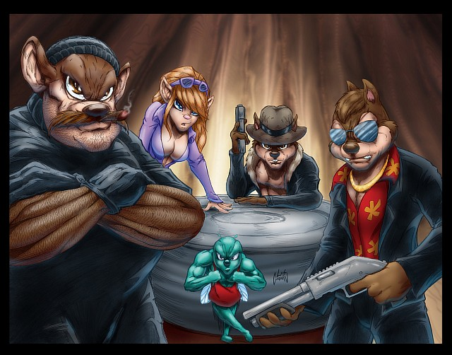 Resize of bad_ass_rangers_by_belgerles-d6fykds