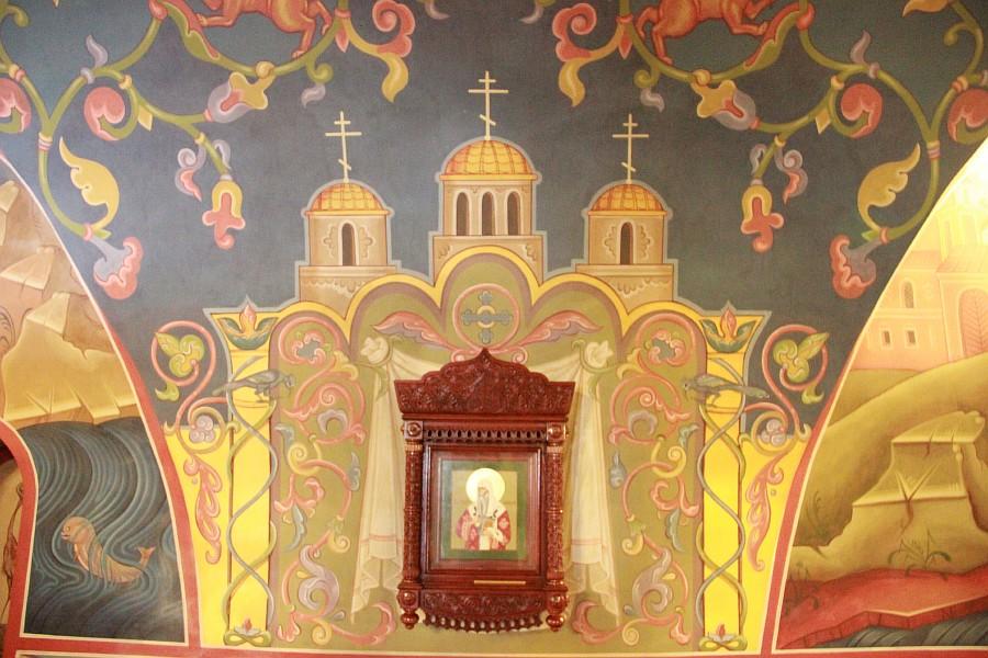 Успенская церковь, роспись, Нижний Новгород, фотография, путешествия, монастырь, Аксанов Нияз, kukmor, of IMG_9407