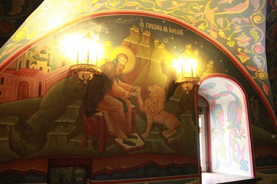 Успенская церковь, роспись, Нижний Новгород, фотография, путешествия, монастырь, Аксанов Нияз, kukmor, of IMG_9408
