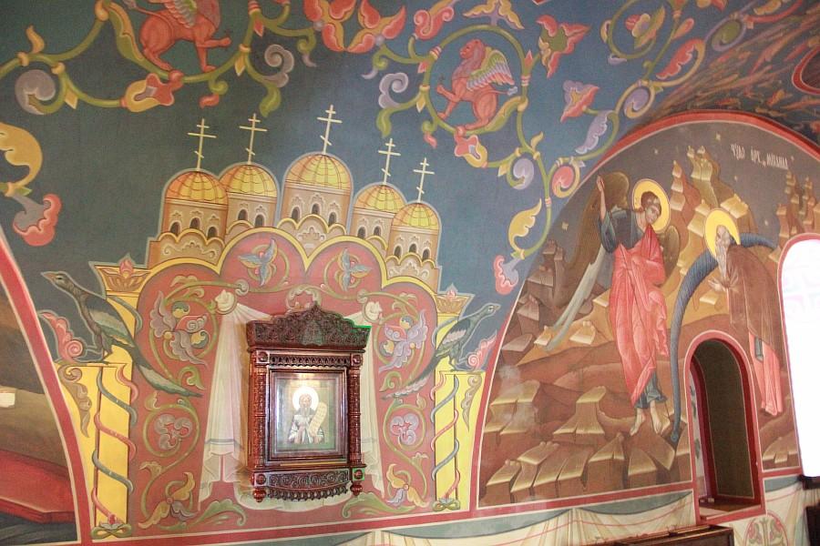Успенская церковь, роспись, Нижний Новгород, фотография, путешествия, монастырь, Аксанов Нияз, kukmor, of IMG_9409