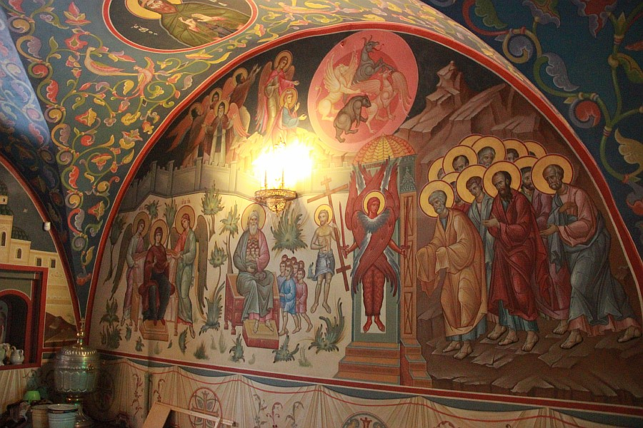 Успенская церковь, роспись, Нижний Новгород, фотография, путешествия, монастырь, Аксанов Нияз, kukmor, of IMG_9413