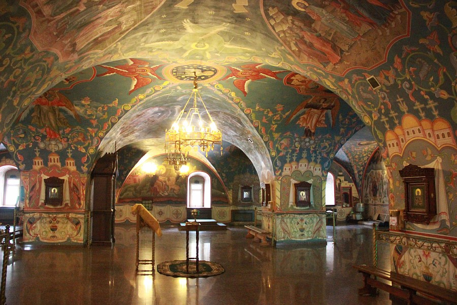 Успенская церковь, роспись, Нижний Новгород, фотография, путешествия, монастырь, Аксанов Нияз, kukmor, of IMG_9419