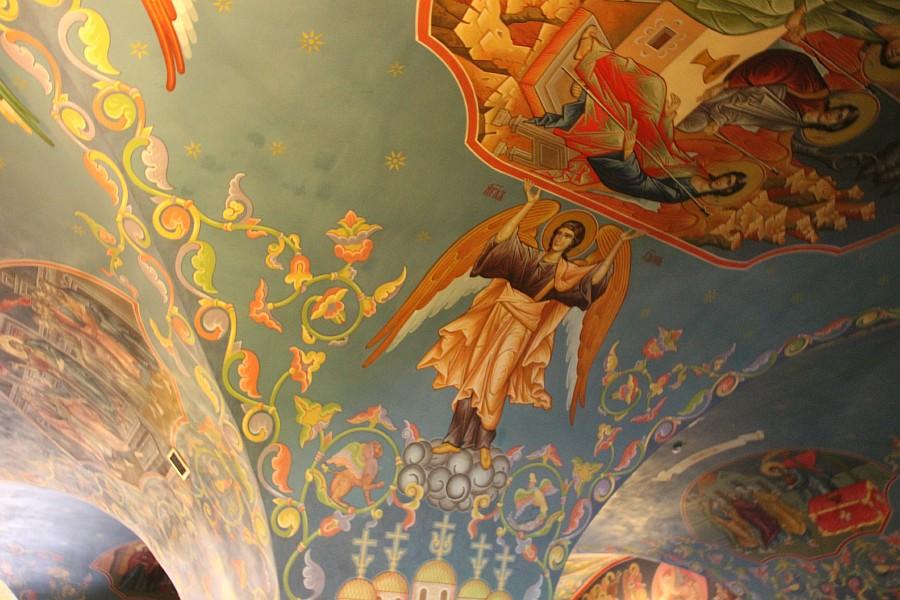 Успенская церковь, роспись, Нижний Новгород, фотография, путешествия, монастырь, Аксанов Нияз, kukmor, of IMG_9427