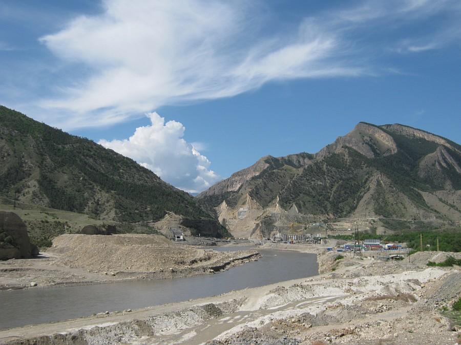 Путешествия, фотография, kukmor, Аксанов Нияз, Гоцатлинская ГЭС, Дагестан, стройка, горы, природа, озеро,плотина,водохранилище, of IMG_8442