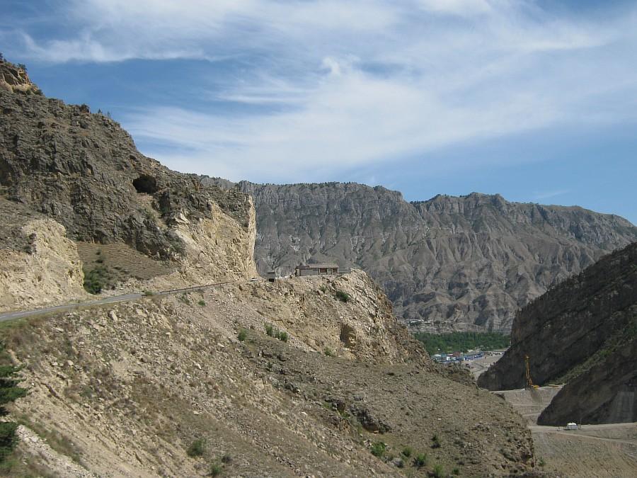 Путешествия, фотография, kukmor, Аксанов Нияз, Гоцатлинская ГЭС, Дагестан, стройка, горы, природа, озеро,плотина,водохранилище, of IMG_8476