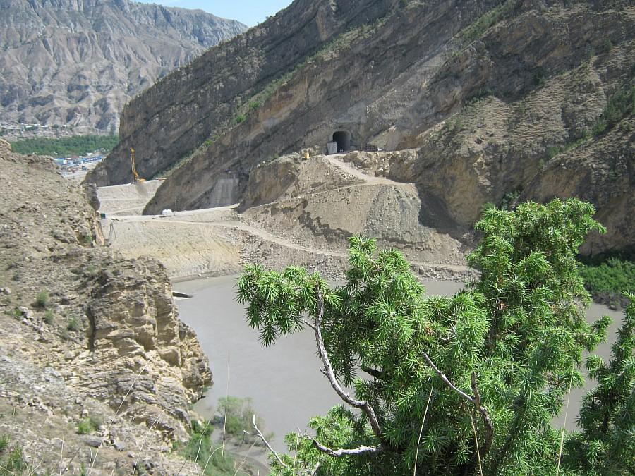 Путешествия, фотография, kukmor, Аксанов Нияз, Гоцатлинская ГЭС, Дагестан, стройка, горы, природа, озеро,плотина,водохранилище, of IMG_8482