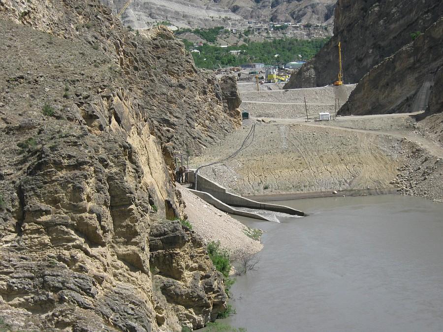 Путешествия, фотография, kukmor, Аксанов Нияз, Гоцатлинская ГЭС, Дагестан, стройка, горы, природа, озеро,плотина,водохранилище, of IMG_8498
