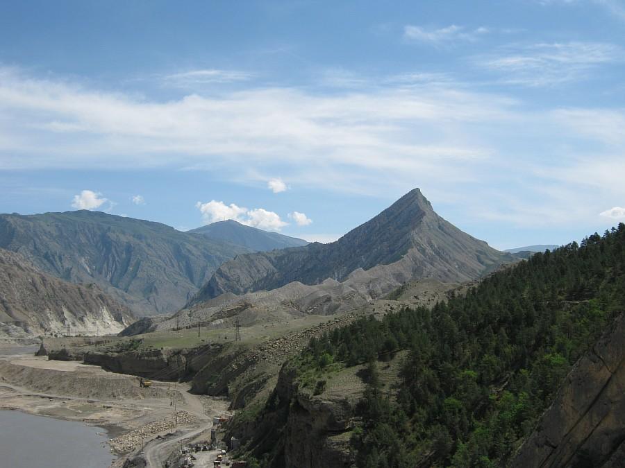 Путешествия, фотография, kukmor, Аксанов Нияз, Гоцатлинская ГЭС, Дагестан, стройка, горы, природа, озеро,плотина,водохранилище, of IMG_8534