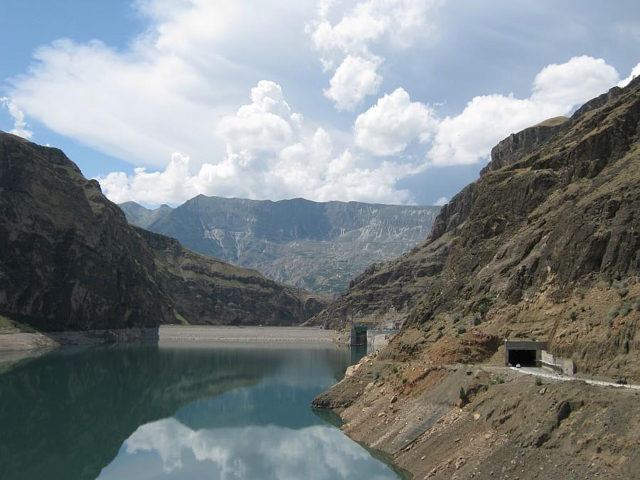 Путешествия, фотография, kukmor, Аксанов Нияз, Гоцатлинская ГЭС, Дагестан, стройка, горы, природа, озеро,плотина,водохранилище, of IMG_8697