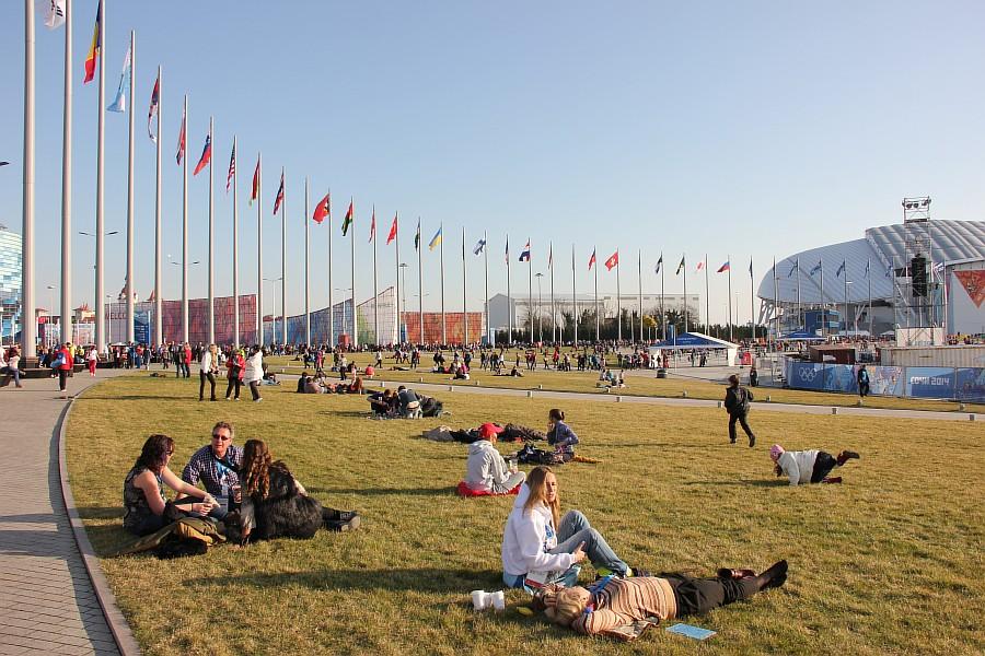 Олмпийский парк, Сочи2014, Sochi2014, зрители, позитив, Зимние Олимпийские игры, болельщики, фото, Аксанов Нияз, kukmor, of IMG_0276