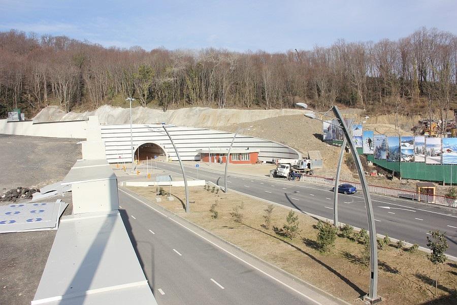 тоннели, эстакады,Сочи, дублер Курортного проспекта,  фотография, Трансстрой, Sochi2014,  тоннели, горы, Сочи2014, горы, АСУТП, of IMG_9888