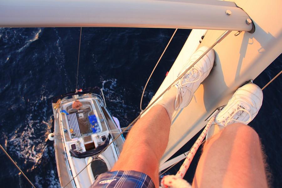 Закат, море, Хорватия, путешествия, красота, фотография, Аксанов Нияз, kukmor, яхта, яхтинг, мачта, жж, lj,  of IMG_4160