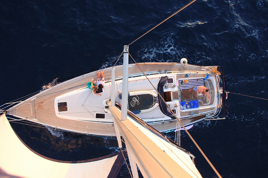 Закат, море, Хорватия, путешествия, красота, фотография, Аксанов Нияз, kukmor, яхта, яхтинг, мачта, жж, lj,  of IMG_4280