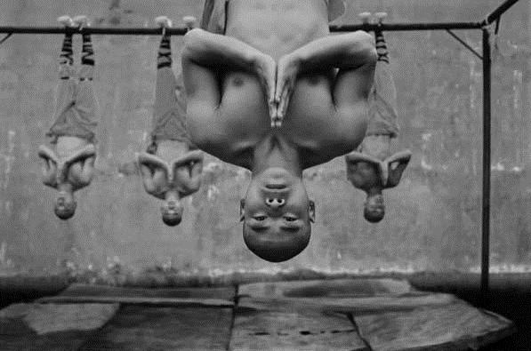 Тренировки Шаолиньских монахов