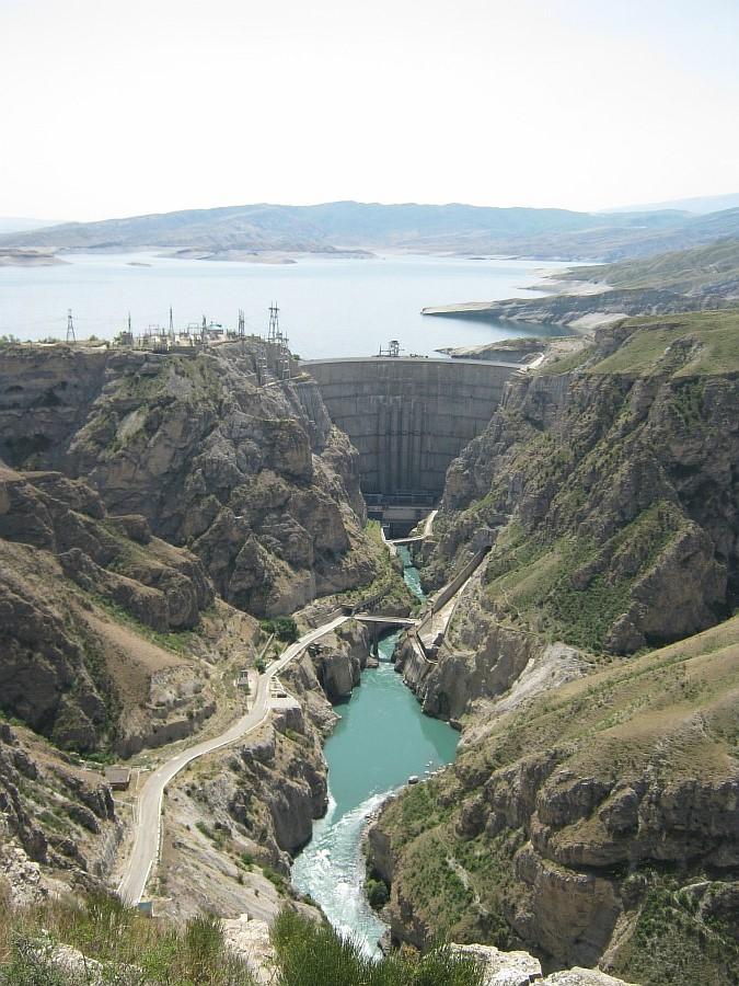 Дагестан, ГЭС. фотографии, Аксанов Нияз, kukmor, Чиркейская ГЭС, Чиркейское водохранилище, электростанция, жж, lj, of IMG_8858