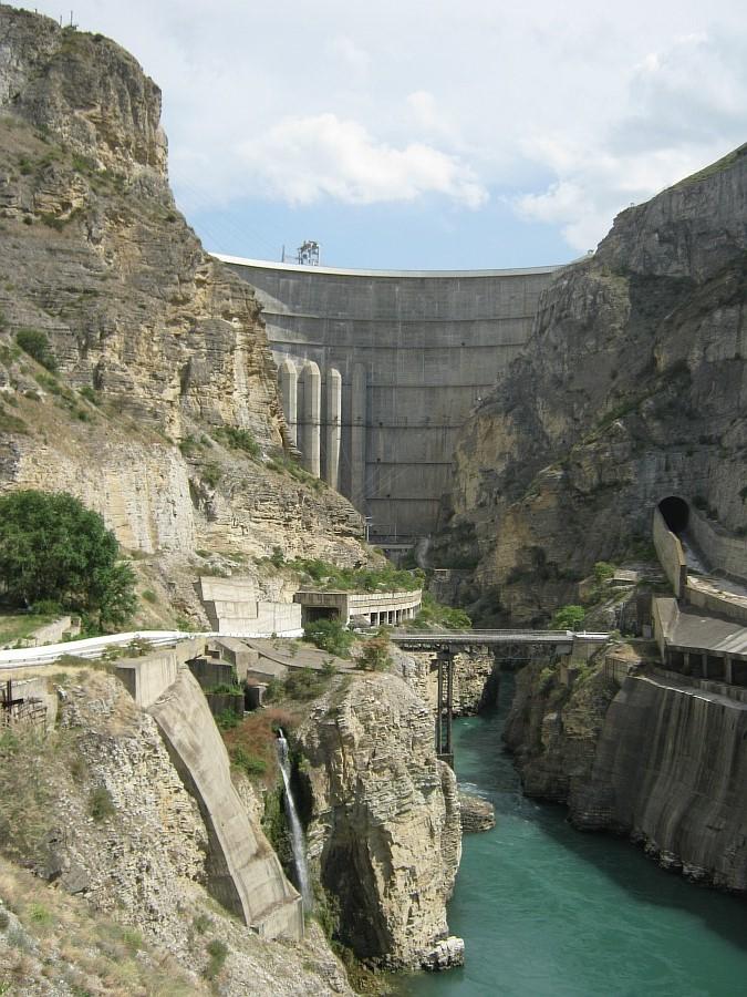 Дагестан, ГЭС. фотографии, Аксанов Нияз, kukmor, Чиркейская ГЭС, Чиркейское водохранилище, электростанция, жж, lj, of IMG_9119