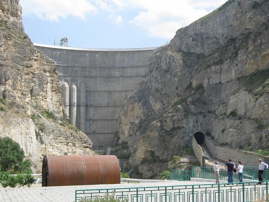 Дагестан, ГЭС. фотографии, Аксанов Нияз, kukmor, Чиркейская ГЭС, Чиркейское водохранилище, электростанция, жж, lj, of IMG_9134