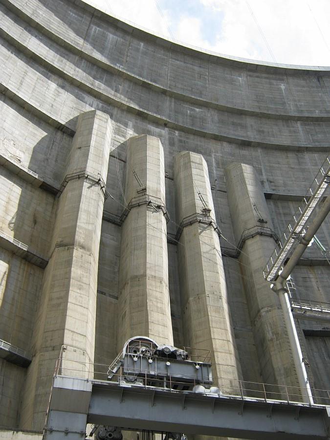Дагестан, ГЭС. фотографии, Аксанов Нияз, kukmor, Чиркейская ГЭС, Чиркейское водохранилище, электростанция, жж, lj, of IMG_9144
