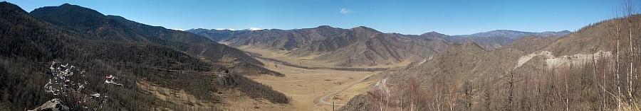 Панорама, Алтай, горы, природа, путешествия, фотография, Аксанов Нияз, kukmor, жж, красота, Катунь, Чуя, река, of WP_20140427_09_41_07_Panorama