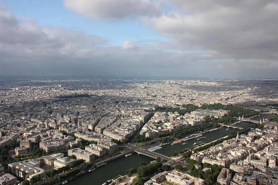 Париж, вид с высоты, эйфелева башня, лувр, путешествия, фотография, Аксанов Нияз, kukmor, жж,lj, of IMG_3334