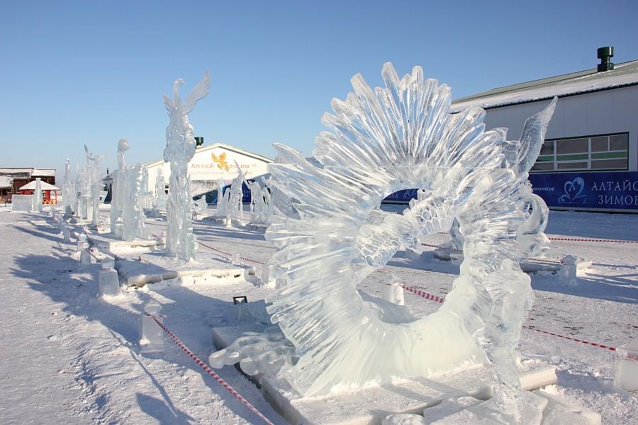 Алтайская Зимовка, лед, красота, креатив, ледяные фигуры, фотографии, Аксанов Нияз, kukmor, Алтайский край, Сибирское подворье, of IMG_2480