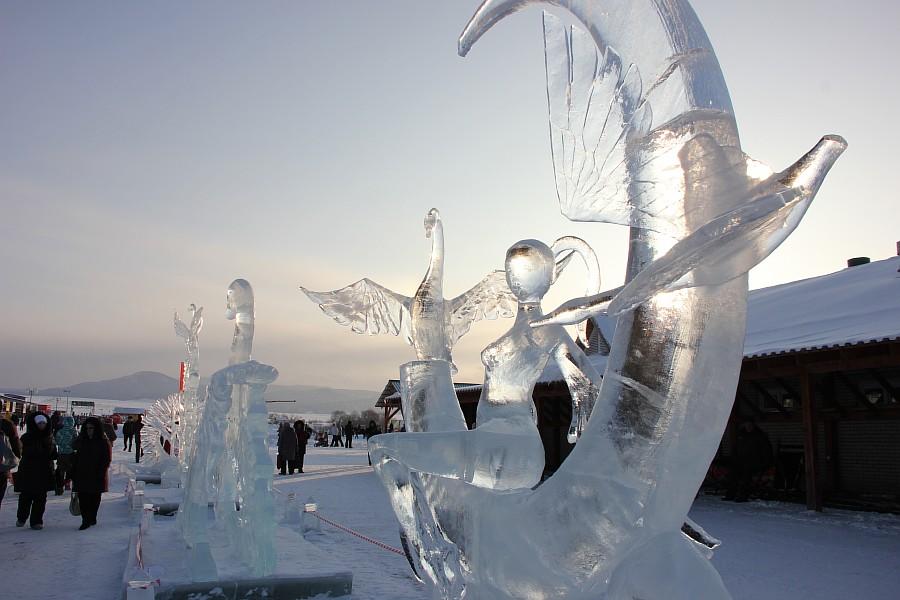 Алтайская Зимовка, лед, красота, креатив, ледяные фигуры, фотографии, Аксанов Нияз, kukmor, Алтайский край, Сибирское подворье, of IMG_3125