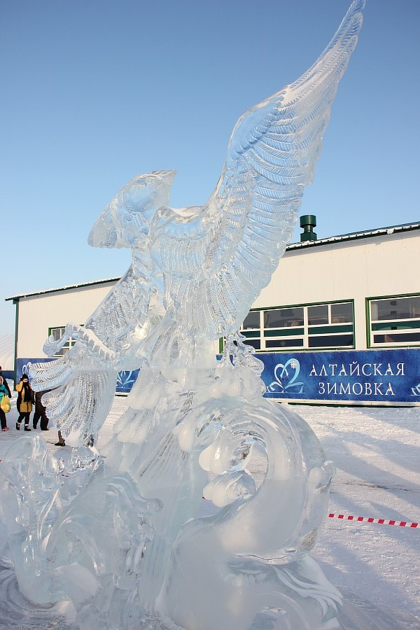 Алтайская Зимовка, лед, красота, креатив, ледяные фигуры, фотографии, Аксанов Нияз, kukmor, Алтайский край, Сибирское подворье, of IMG_3136