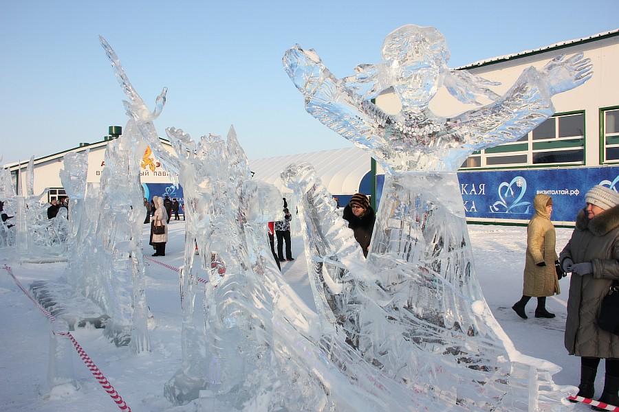 Алтайская Зимовка, лед, красота, креатив, ледяные фигуры, фотографии, Аксанов Нияз, kukmor, Алтайский край, Сибирское подворье, of IMG_3140