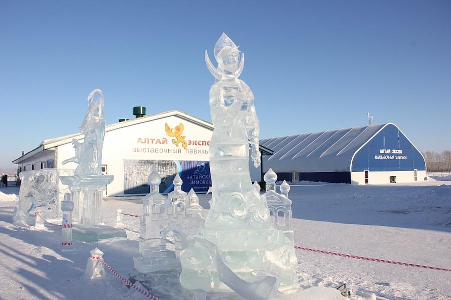 Алтайская Зимовка, лед, красота, креатив, ледяные фигуры, фотографии, Аксанов Нияз, kukmor, Алтайский край, Сибирское подворье, of IMG_3491