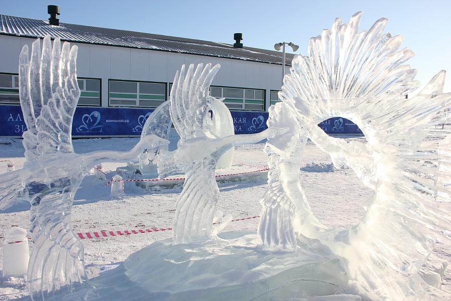 Алтайская Зимовка, лед, красота, креатив, ледяные фигуры, фотографии, Аксанов Нияз, kukmor, Алтайский край, Сибирское подворье, of IMG_3499