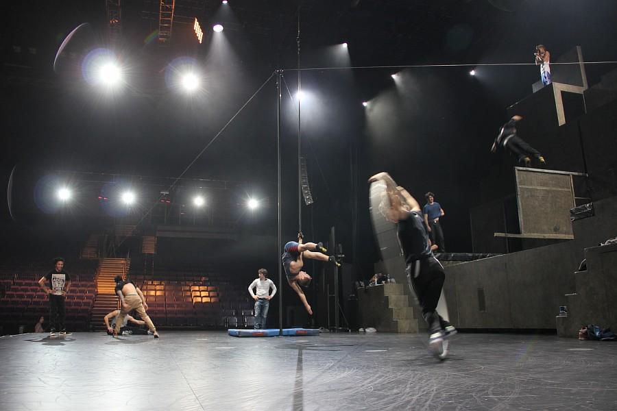 Казань, фотографии, Cirque Eloize, шоу ID, Аксанов Нияз, цирк, репетиция,  of IMG_4130