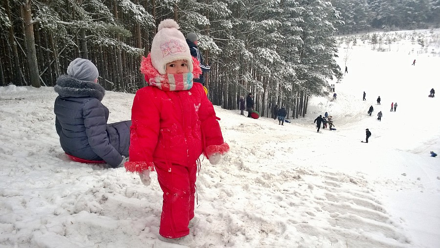 Кукмор, новый год, горнолыжка, лес, дети, фотографии, Аксанов Нияз, kukmor, зима, снег, of WP_20150103_006
