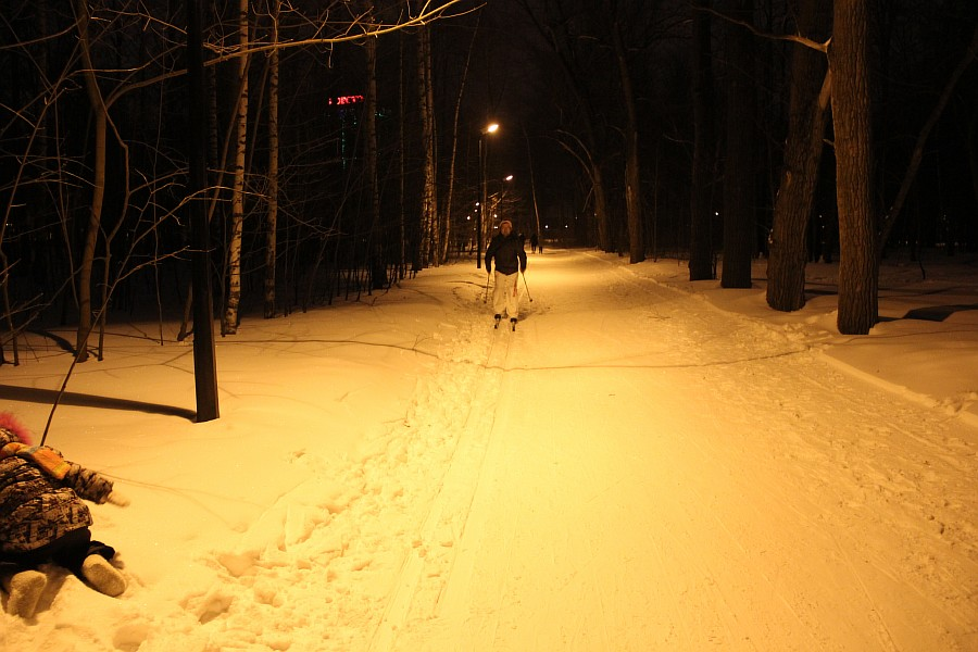 Лыжи, Казань, Парк Горького, зима, nordway, Аксанов Нияз, фото,  of IMG_4902