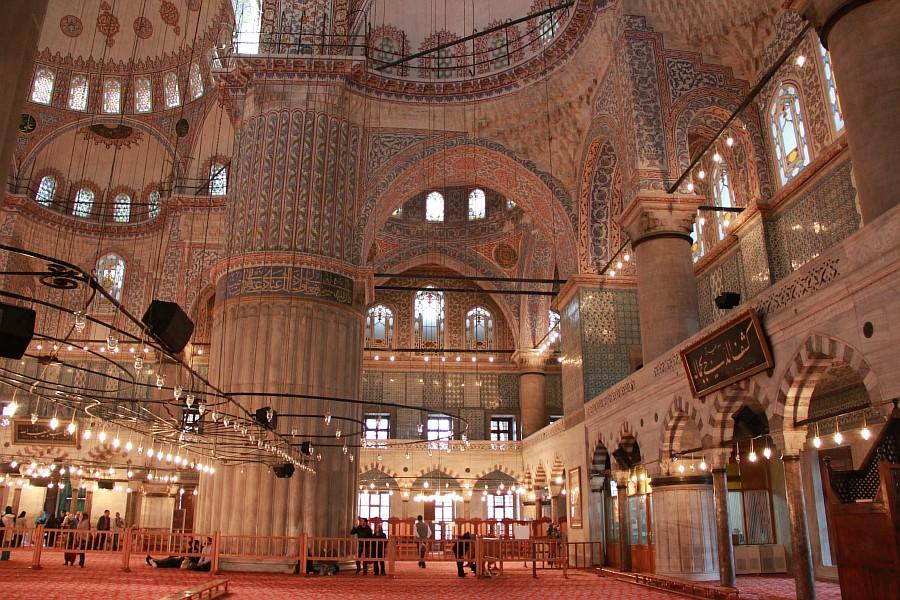 Главная мечеть в стамбуле фото