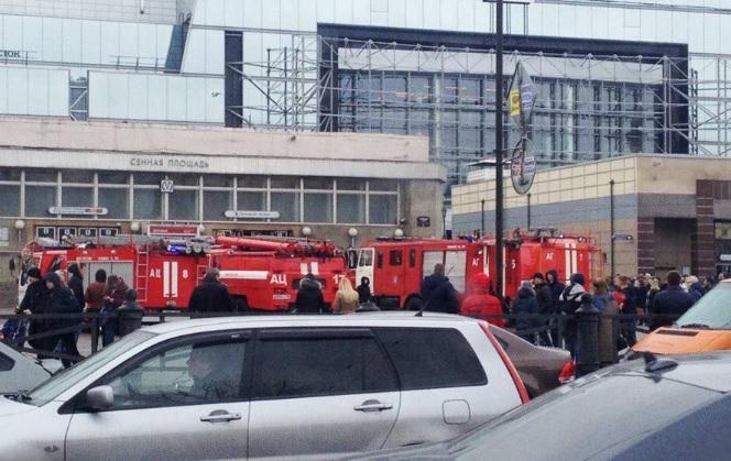 Трагедия в метро С-ПЕТЕРБУРГА.