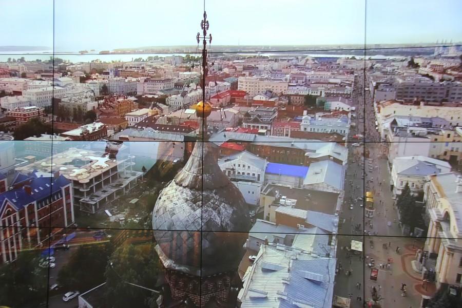 Казанская Панорама, Казань, музей, экскурсия, кремль, Аксанов Нияз