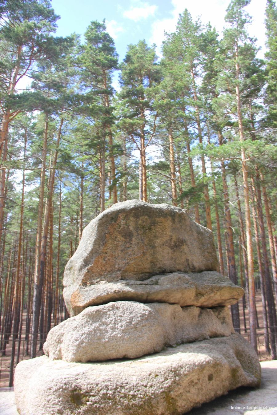 Крым и Карелия в одном флаконе.Один день в национальном природном парке Бурабай (северный Казахстан)