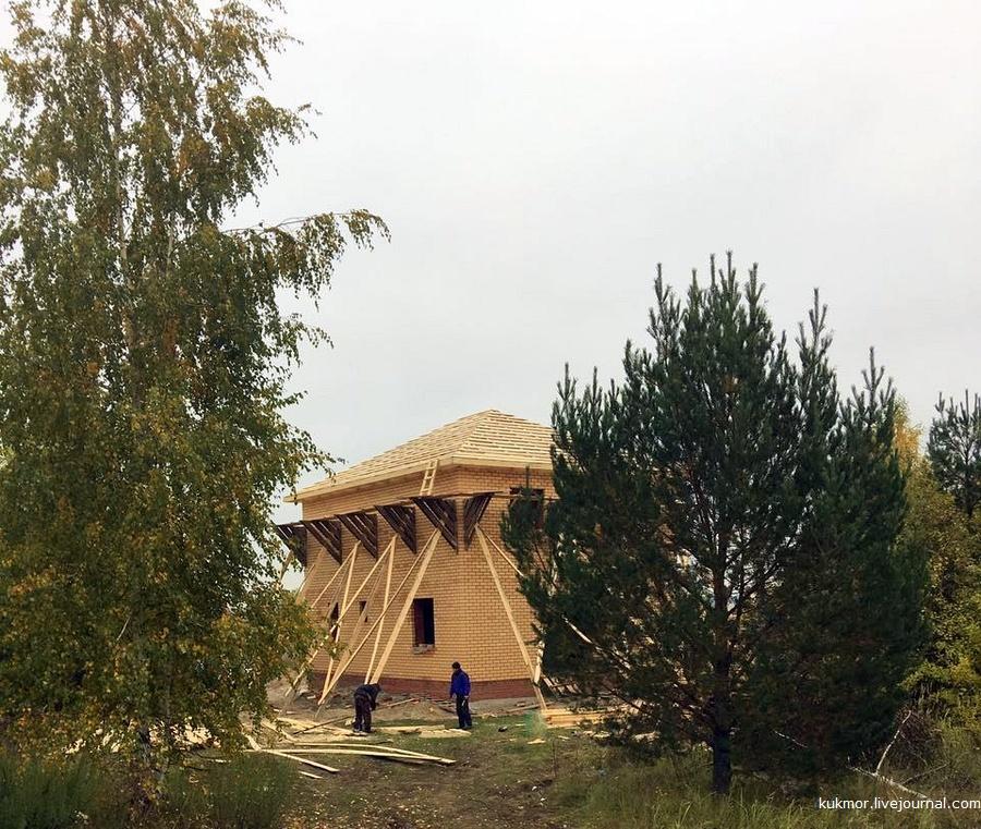 Строим свой дом в Казани за 90 дней. 69-72 дни. Дождь внутрь дома больше не