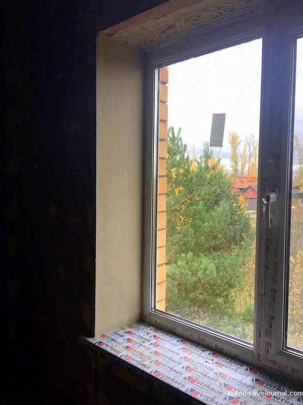 Как нам строят дом под ключ в Казани за 90 дней. 81-83 дни. Начали штукатурить и зарыли водопровод