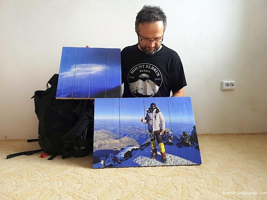 Картины на досках, подарок, доставка по России, фотографии, Эльбрус, Аксанов Нияз, ВАУ подарок, ArtDoski
